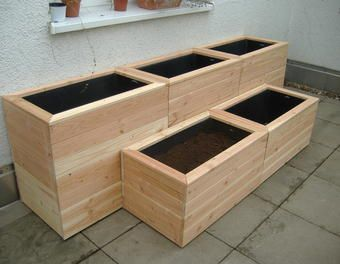 k belquintett noch einmal douglasie m rtelkasten blumenk bel aus holz hochbeete. Black Bedroom Furniture Sets. Home Design Ideas