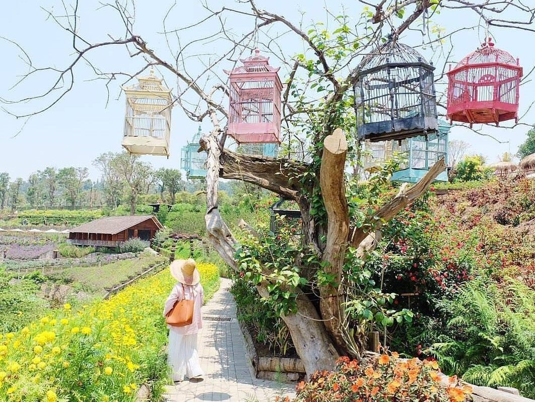Rainbow Garden, Floating Market Lembang