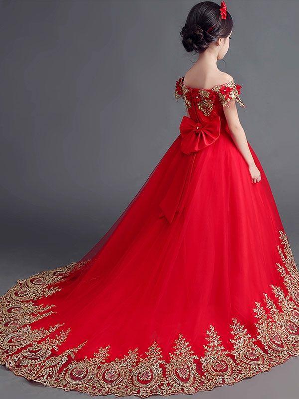 Pin De Clara Loza En Vestidos Vestidos Rojos Para Niñas
