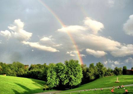 rainbow is from heaven hd wallpapers wallpapers for
