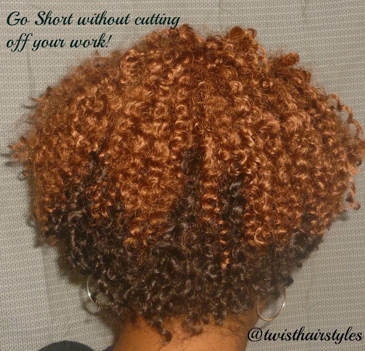 Crochet Braids by Twist. Short Cropped Cut with Bohemian ...