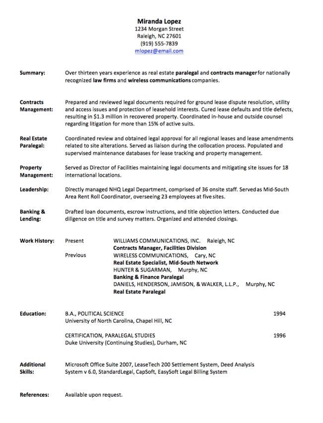 A Functional Resume Resume Work Resume Examples Resume Writing