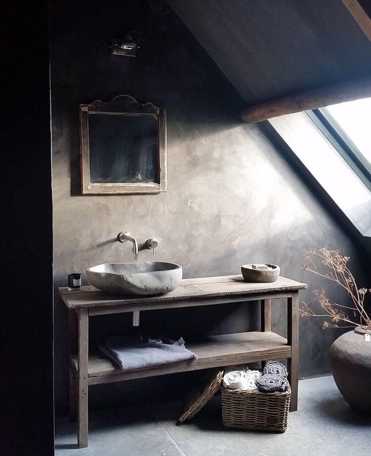 Wabi Sabi Bath Forest House Bathroom Rustic Bathroom