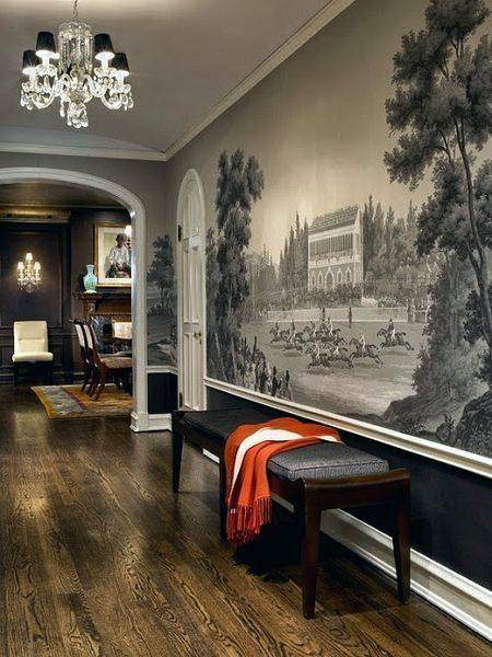 Grisaille Murals-Wallpapers-Art-Screens {part II} Möhren - esszimmer gestalten wnde