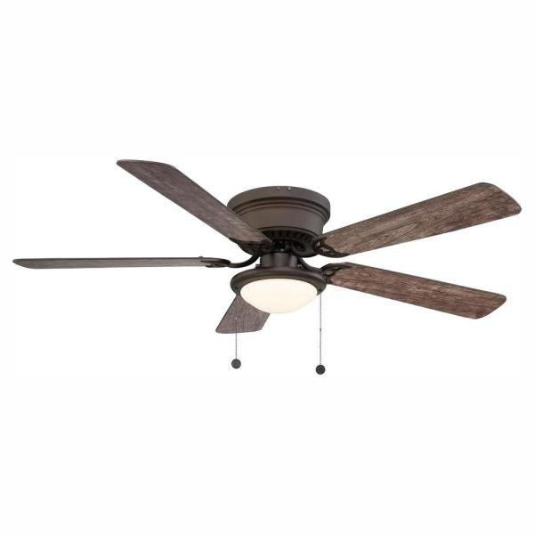 Unbranded Hugger 52 In Led Espresso Bronze Ceiling Fan Al383led Eb The Home Depot In 2020 Bronze Ceiling Fan Ceiling Fan Ceiling Fan With Light