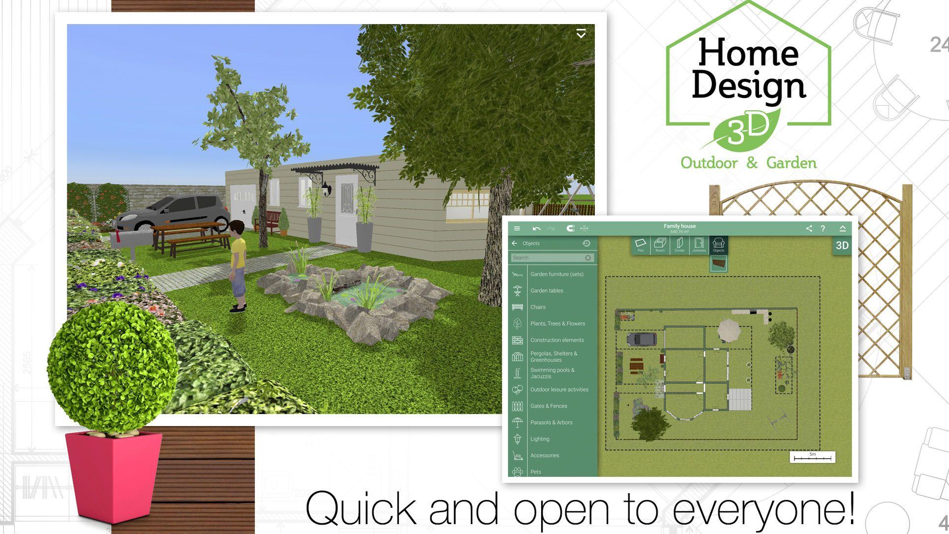 Home Design 3d Outdoor And Garden Lifestyle Productivity Apps Ios Landscape Design App Landscape Design Software Home Design Software
