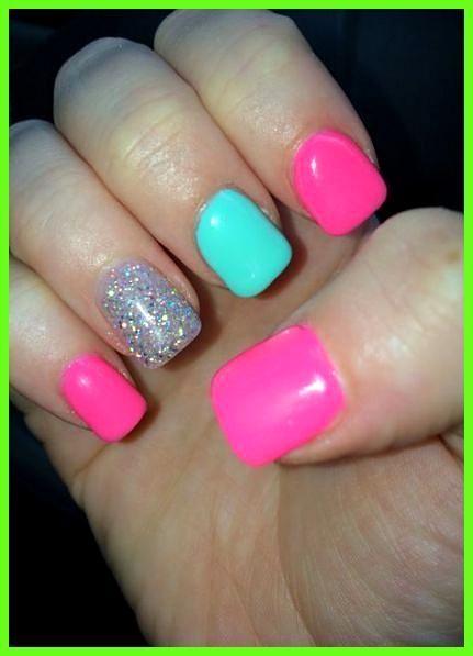 Summer Nails teal