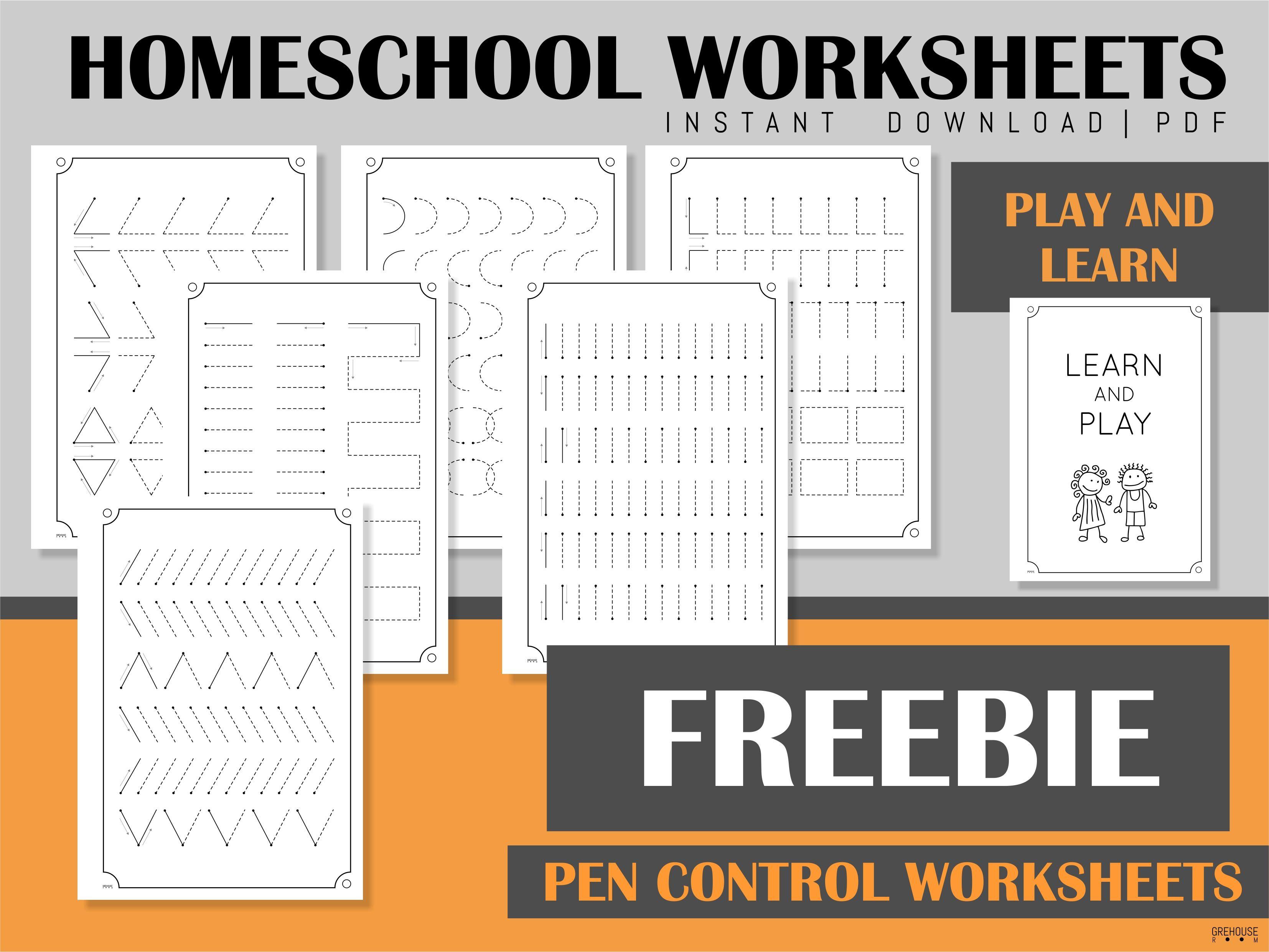 Freebie Handwriting Practice Sheets In