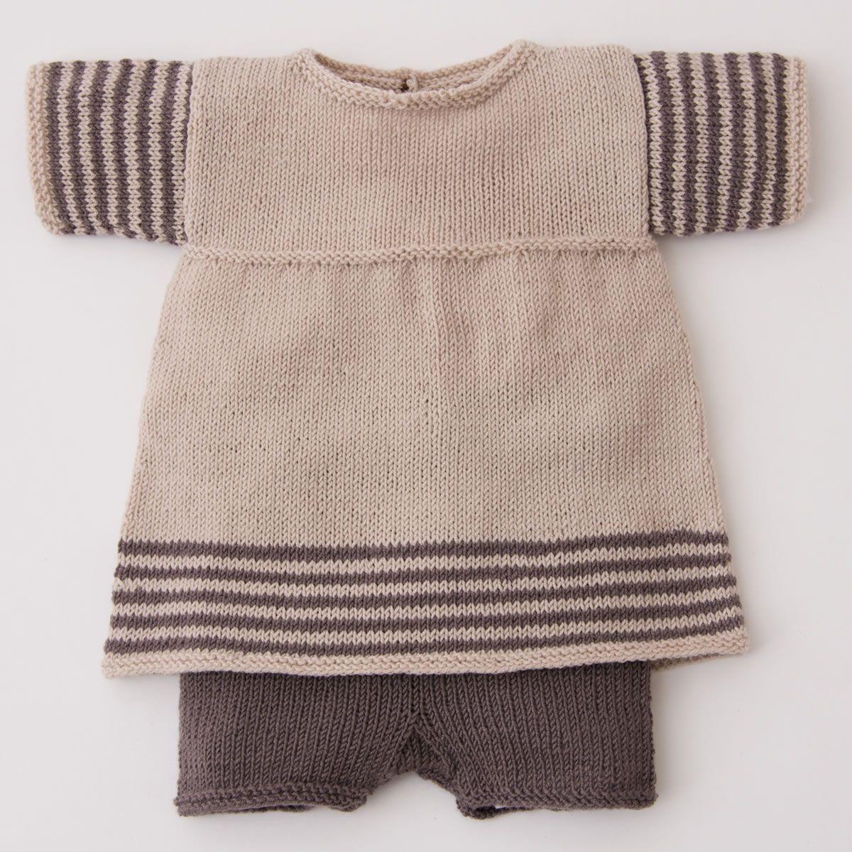Lana Grossa TUNIKA & HOSE Cool Wool Baby | Pinterest | Waldorfpuppen ...
