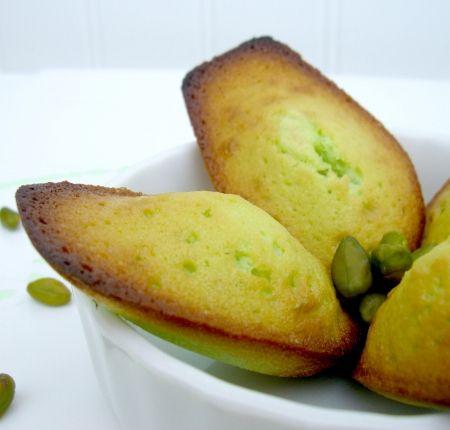 Recette de Madeleines à la pistache : la recette facile