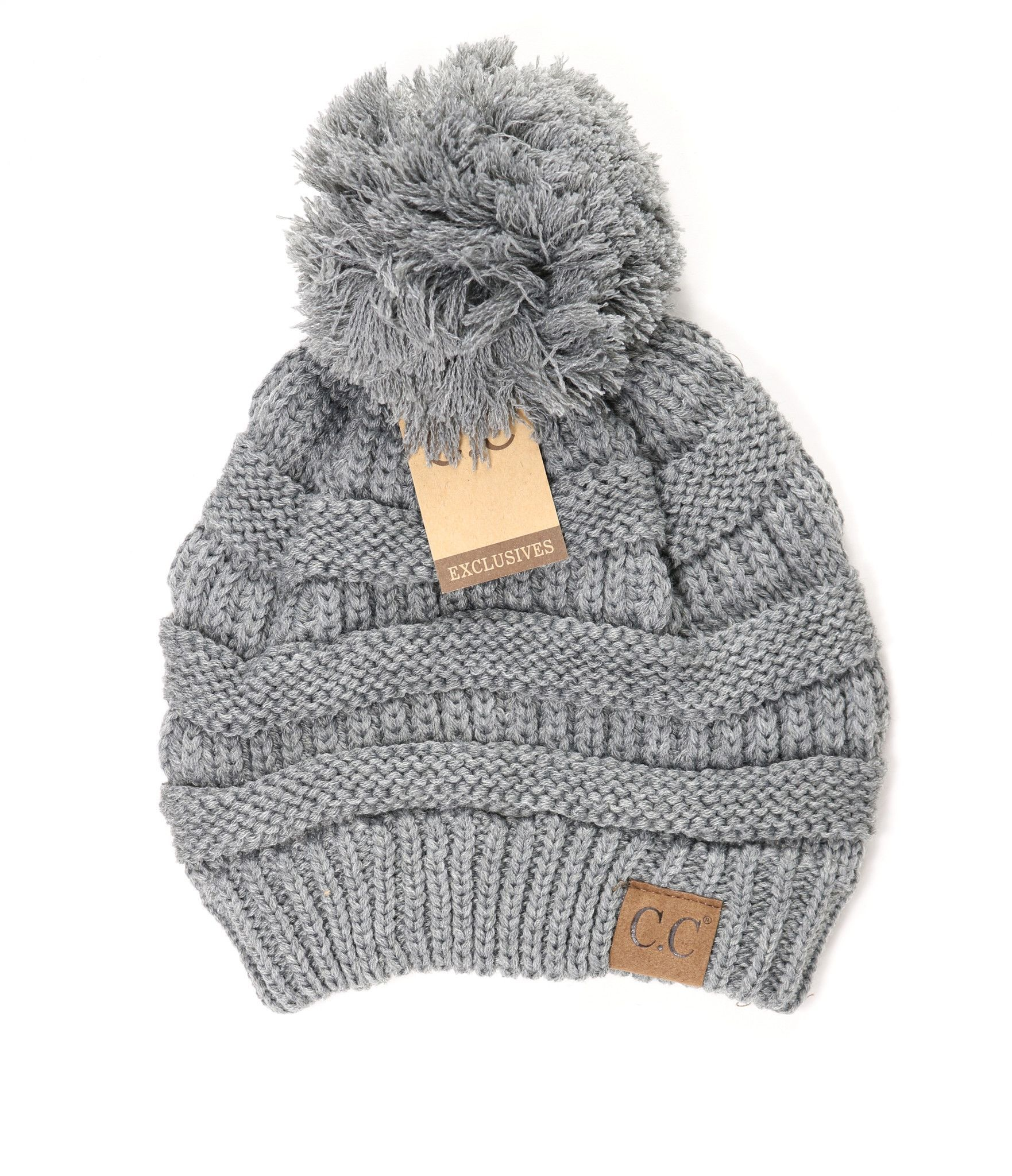 the classic cc beanie just accessorized with a pom on top match rh pinterest com