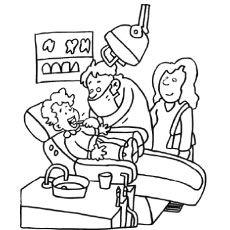 Top 10 Free Printabe Dental Coloring Pages Online Dental Health Teeth Health Dentist