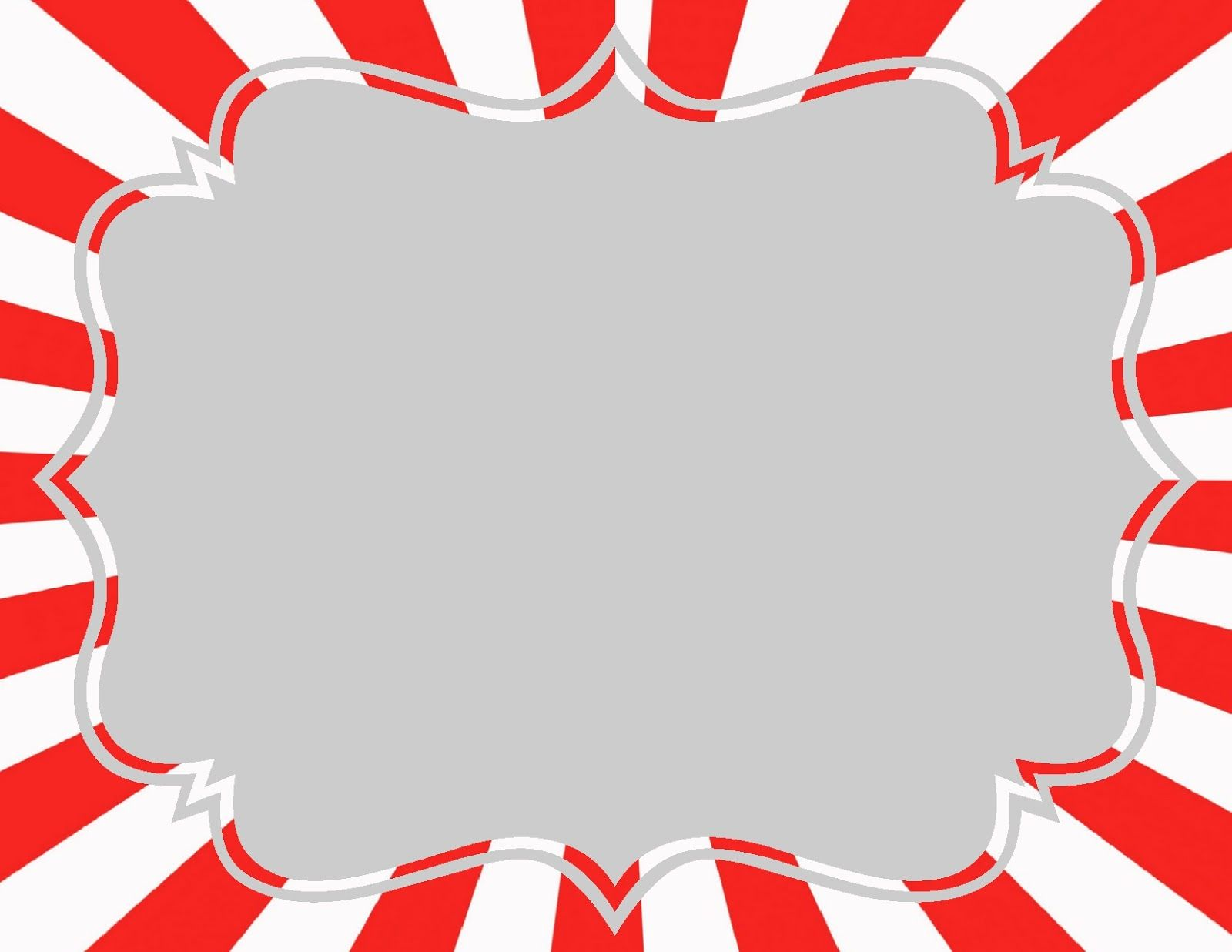 blank circus sign template - Google Search | Carnival
