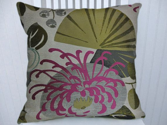 Blue Pink Green Decorative Pillow Cover 40x40 Or 40x40 Or 40x40 Custom Pink And Green Decorative Pillows