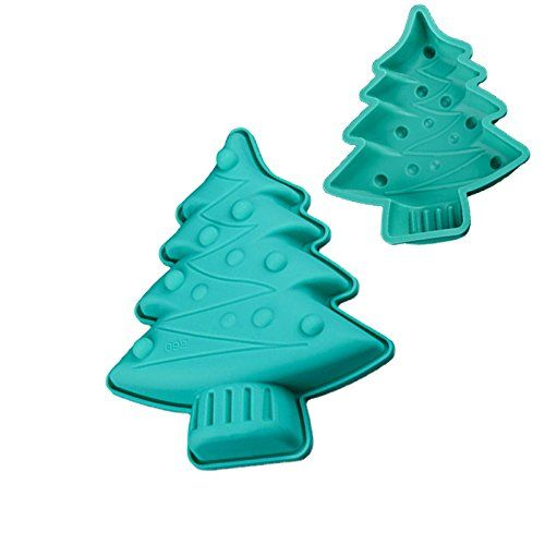 Bakeware Tools Baking Pastry Mould Christmas Tree Design Silicone Mold For Fondant Pudding Jelly Breads Br Jelly Bread Baking And Pastry Christmas Tree Design
