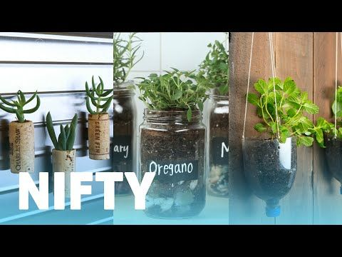 5) 8 Things You Can Upcycle Into Planters - YouTube | vihertumpelo Planters Youtube on