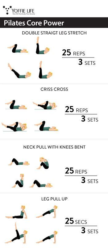 Pilates Core Power #exercise #workout #pilates #core #abs #sculpting #toned #toning #fit #fitness #b...