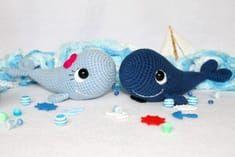 Blue Whale Free Amigurumi Pattern Petites Mains Pinterest