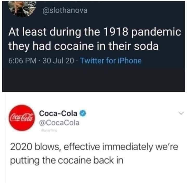 Cola Cola Now With Special Sugar Memes In 2020 Funny Facts Funny Relatable Memes Funny Memes