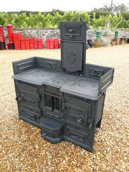 Victorian Cast Iron Kitchen Range