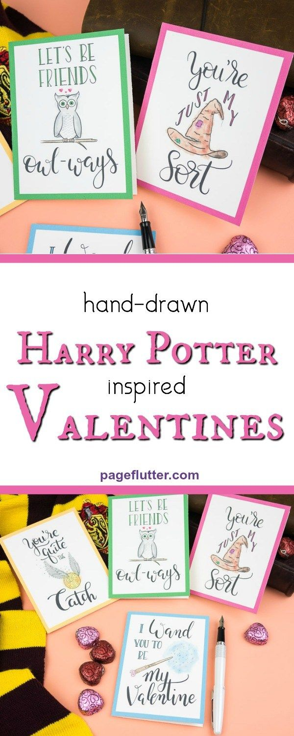 4 Harry Potter Valentines to Charm Your Friends ...