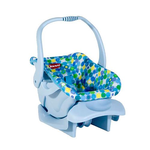 "Joovy Toy Car Seat - Blue Dot - JOOVY - Toys ""R"" Us 