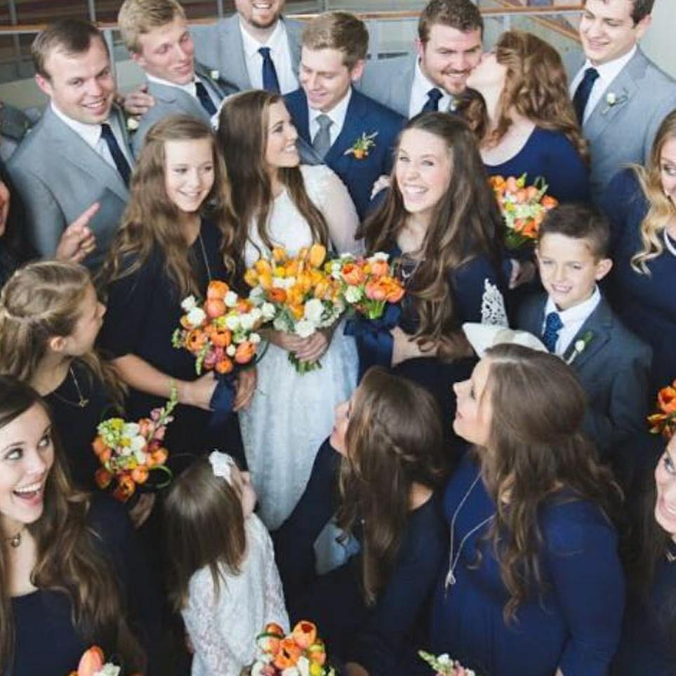 Absolutely Beautiful Duggar Wedding Joy Anna Duggar Wedding Duggar Girls