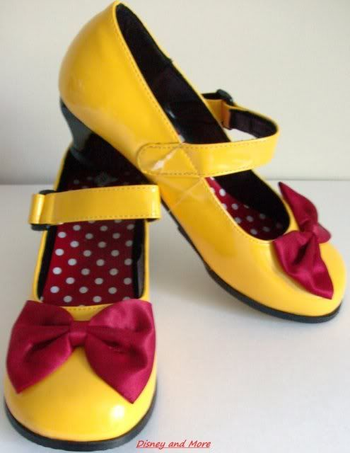 Gallery For \u003e Minnie Mouse Yellow Shoes