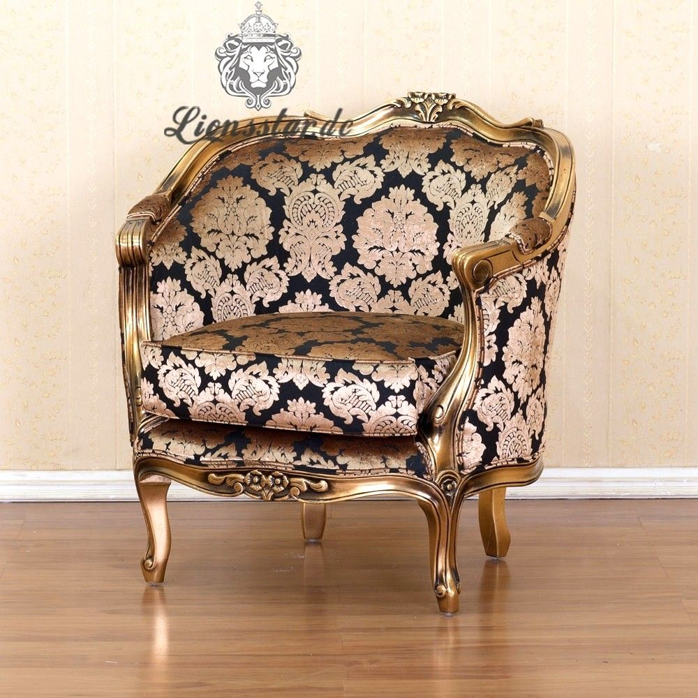Barock Sessel Antik Chair Tub Chair Furniture