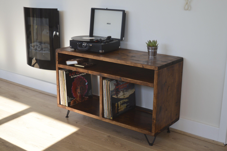 Tv Stand Vinyl Storage