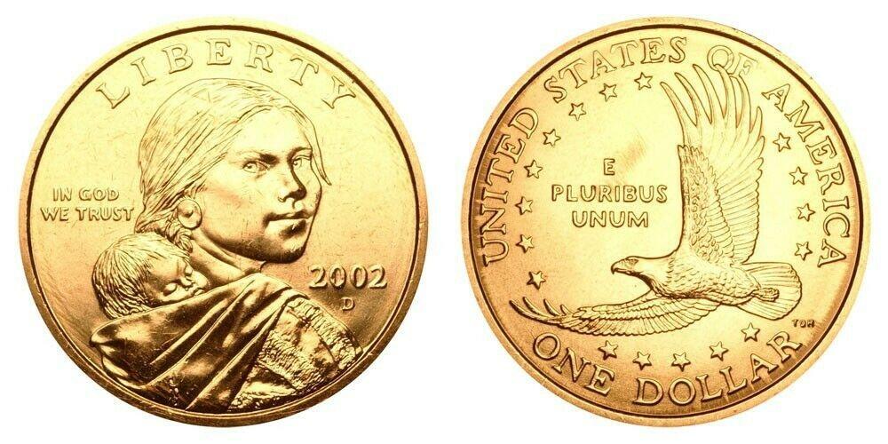 Rare Sacagawea Gold D Dollar Gold Dollar Coin Value Sacagawea Dollar Gold Coin Values