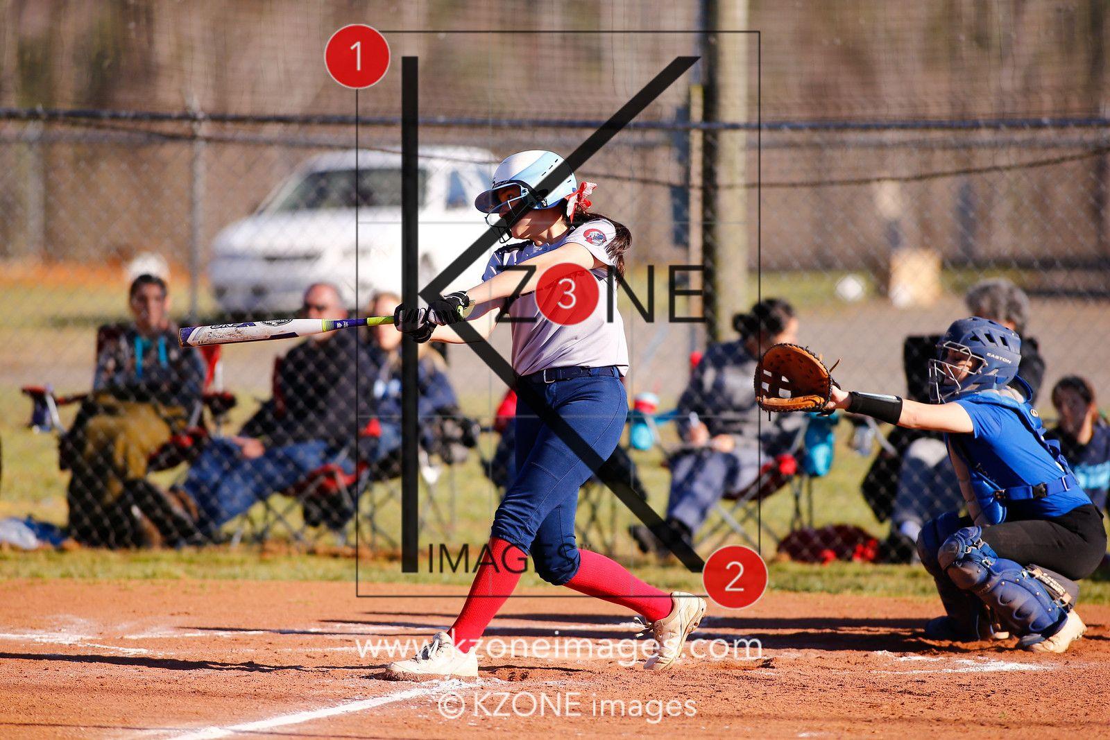 Mcmichael Magna Vista Varsity 3 22 17 Kzone Images Softball High School Sports