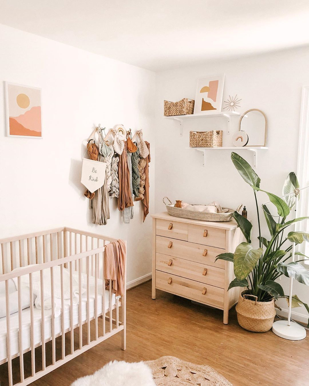 Currently Both My Girls Are Down With Colds And A Certain One Year Old Has Completely Refused Her Na… | Baby Room Neutral, Baby Girl Nursery Room, Girl Nursery Room