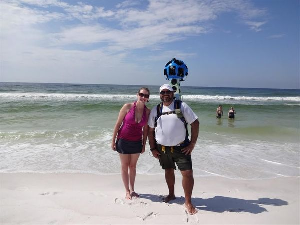 Google's Street View Backpack Has Florida's Coast Covered