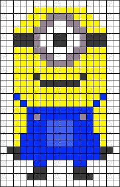 Minion Perler Bead Patterns - U Create