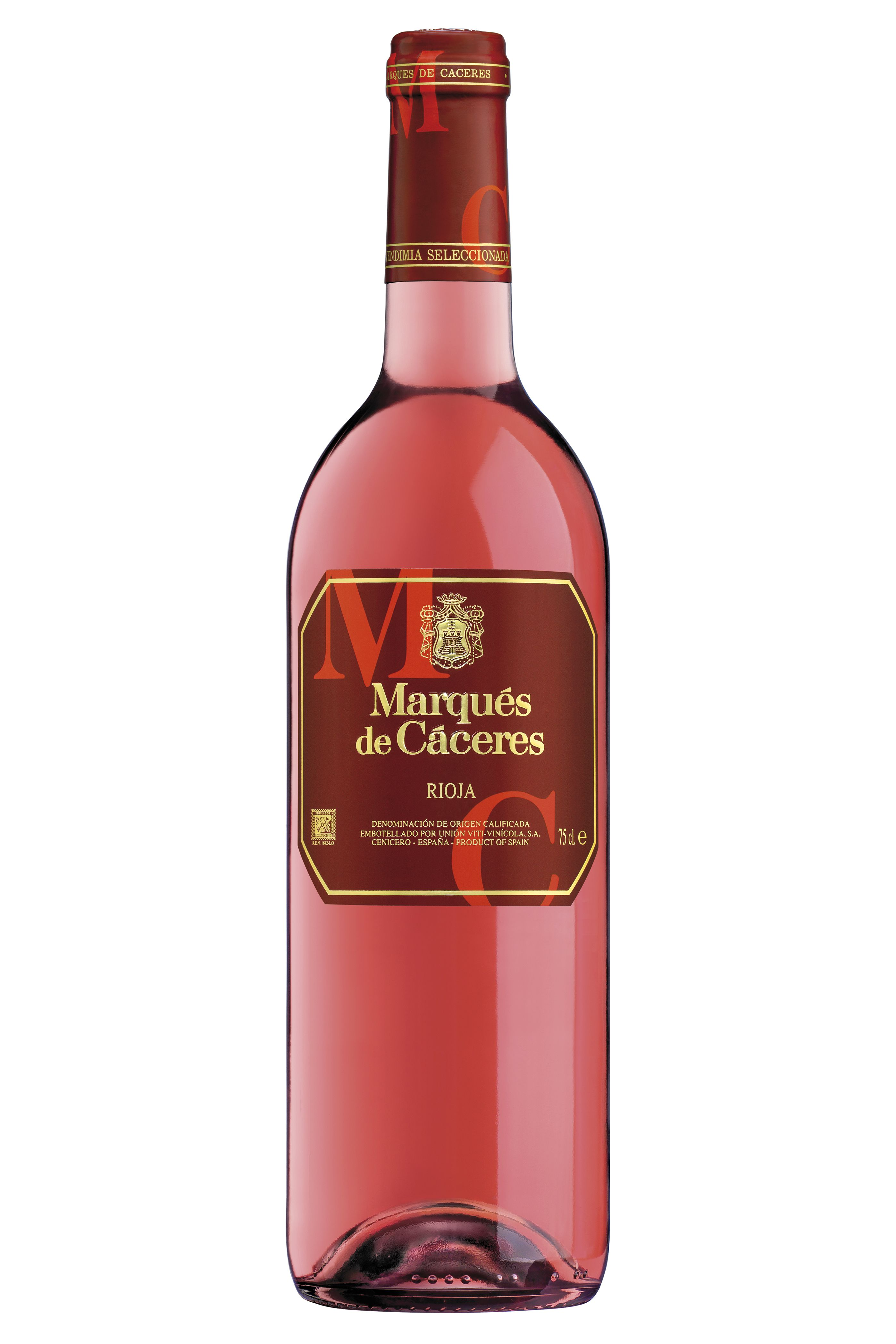 Pin By Vineyard Brands On Marques De Caceres Wine Bottle Wines Rose Wine