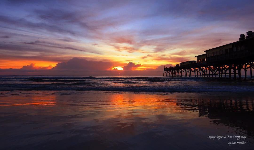 Breathtaking Daytona Beach Sunrise Photo Via Instagram Hyjoyousandfreephotography