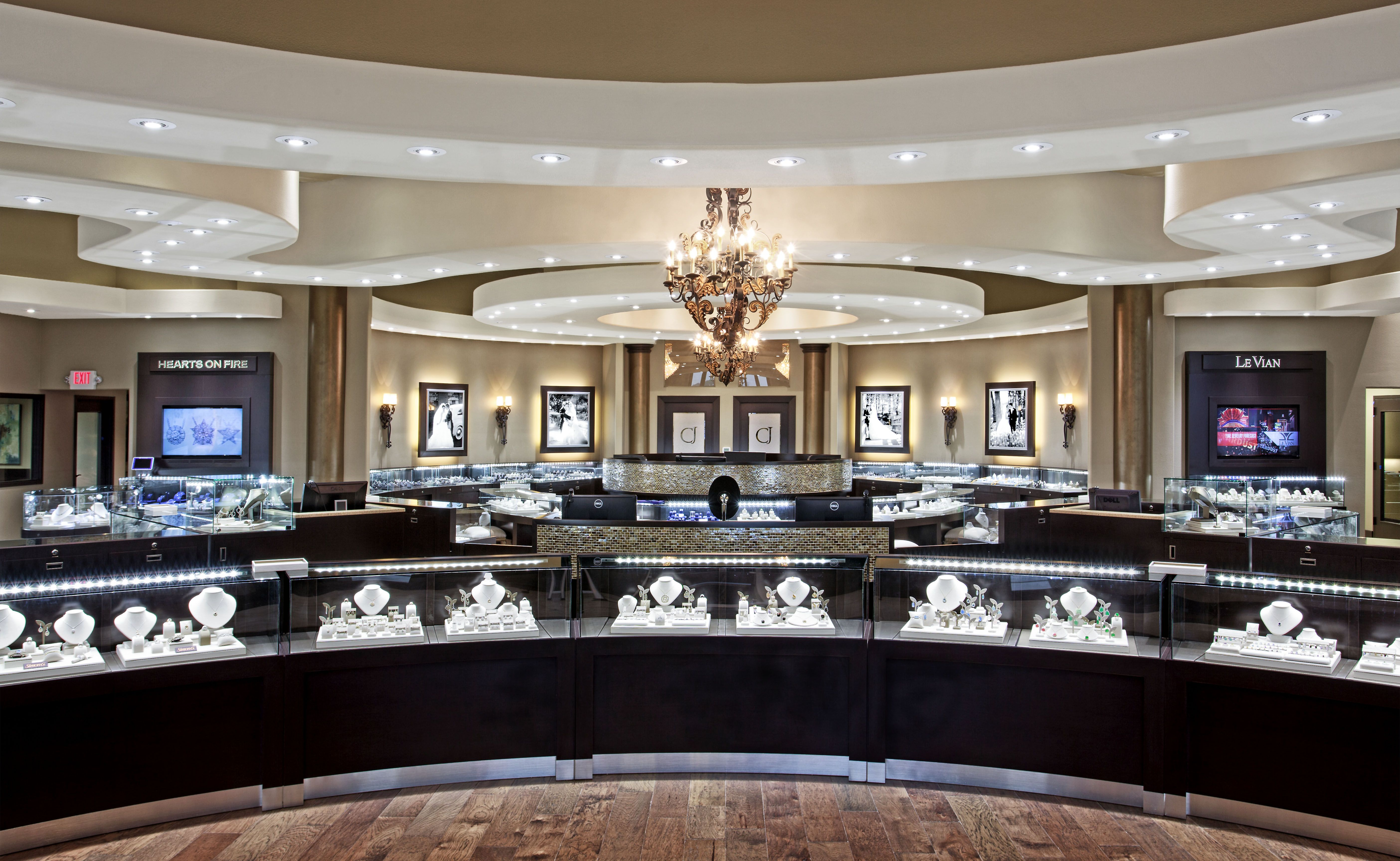 The importance of lighting on retail interior design - Interior design lighting companies ...