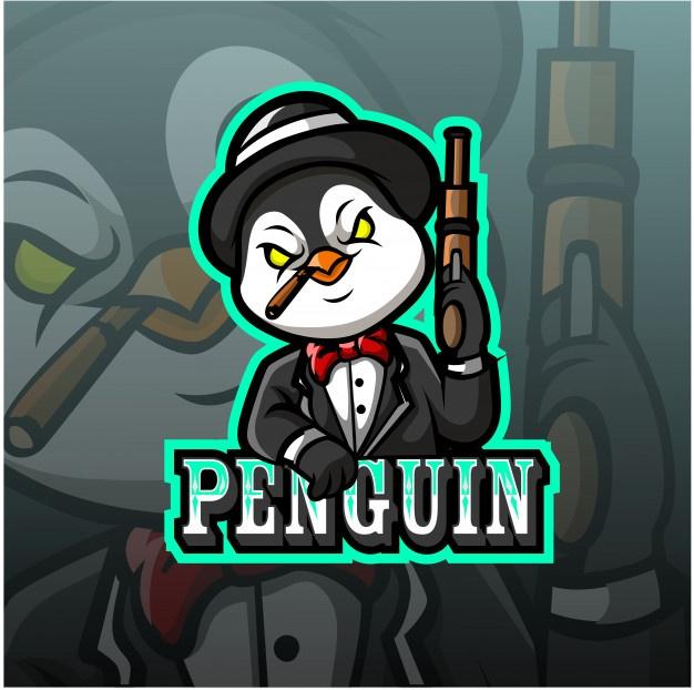 Penguin Mascot Esport Logo in 2020