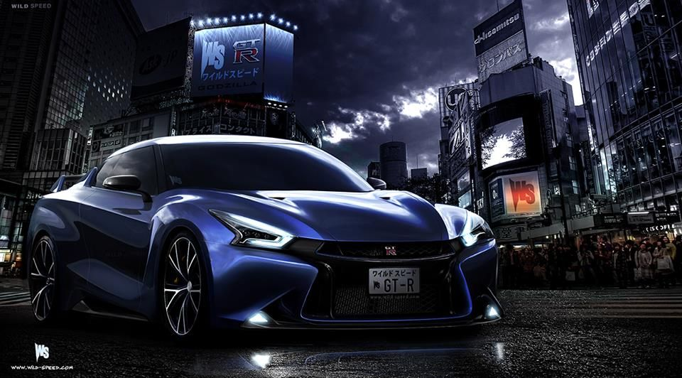 concepts car and skyline - photo #12