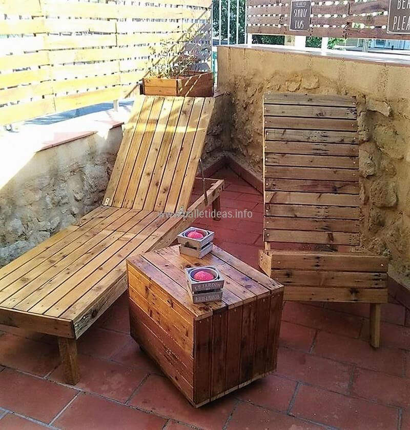 Ingenious DIY Wood Pallet Recycling Projects Muebles madera y Madera