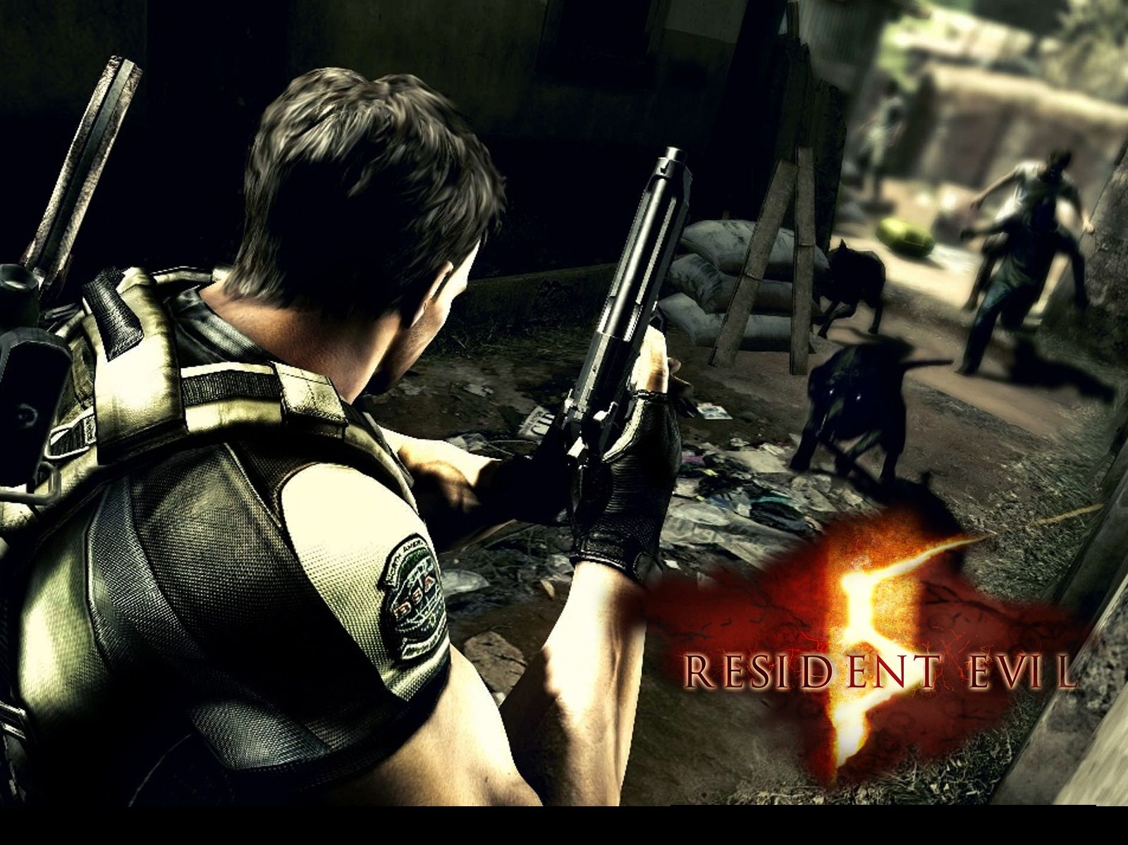 resident evil 5 chris wallpaper