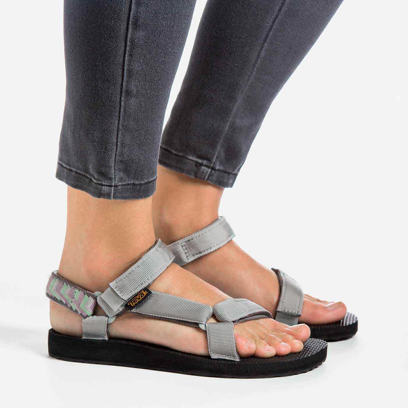 Teva Original Universal Mens Sandals Grey