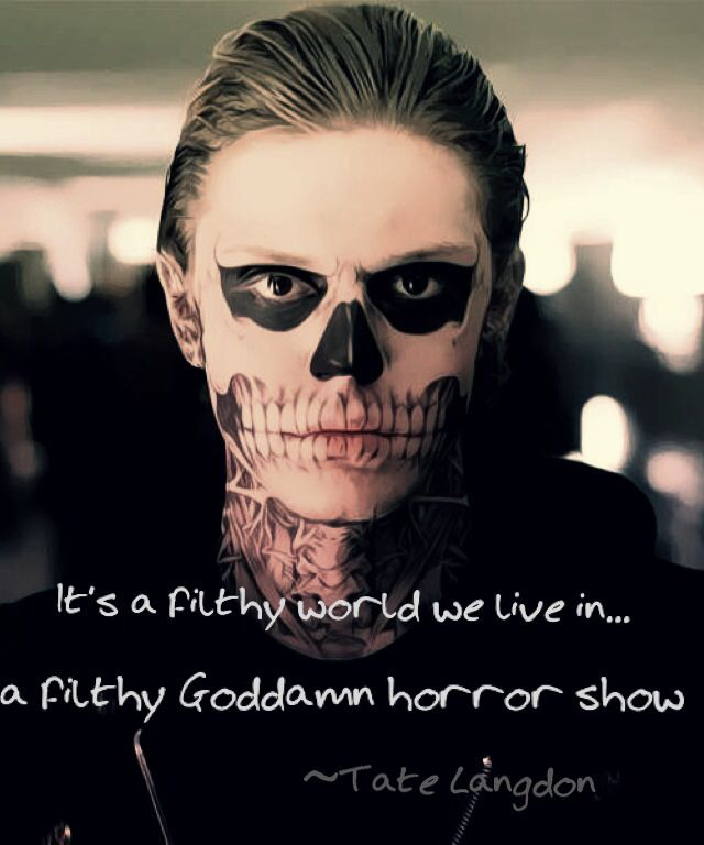TAte- American horror story | QUOTES | Pinterest ...
