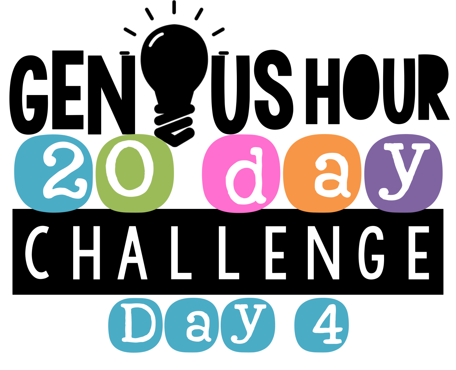 Genius Hour 20 Day Challenge