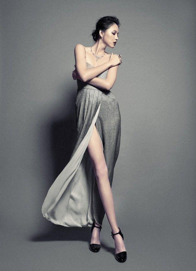 Zhang Zilin in #GiorgioArmani | Fashion: Evening | Pinterest