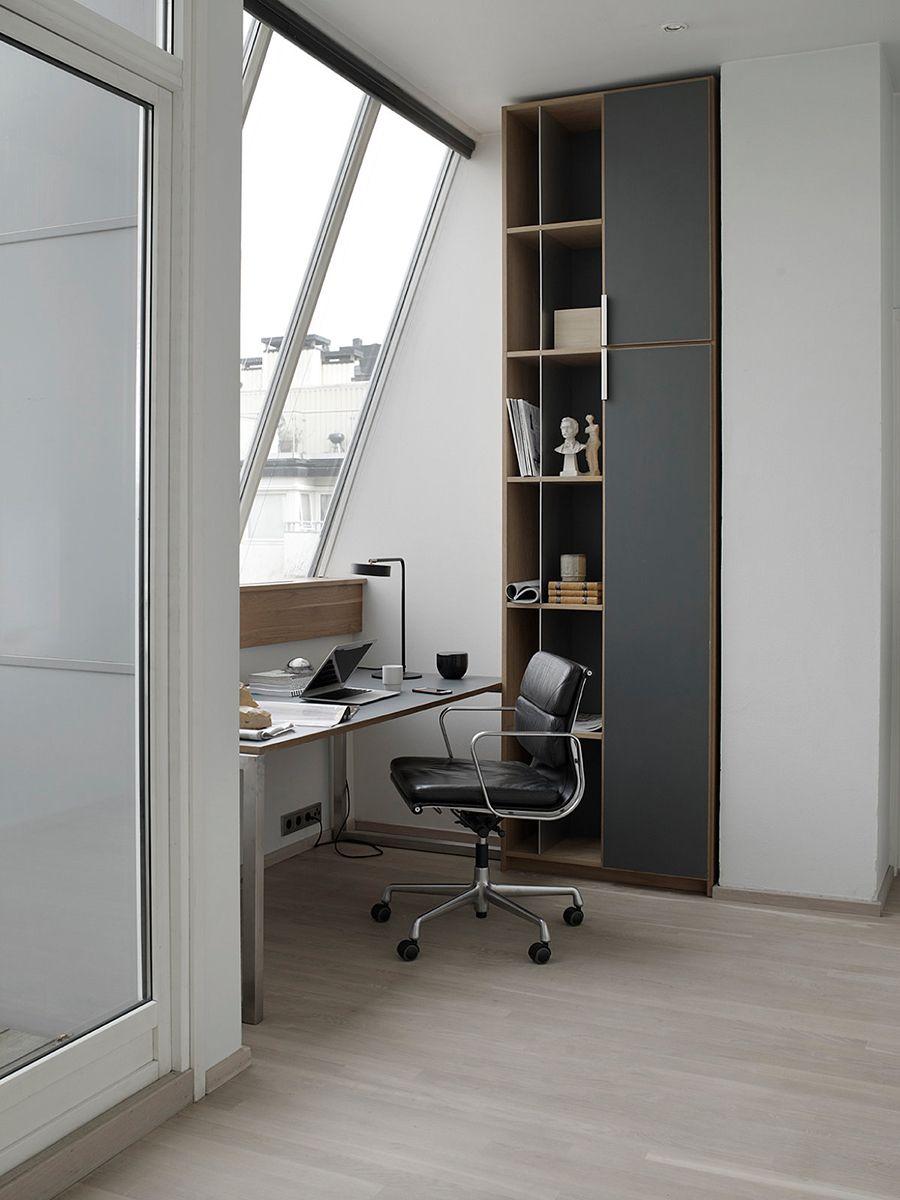 In Oslo Soft Neutrals Are Accented By Chrome Grenier Renove Idees Pour La Maison