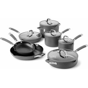 Cooking With Calphalon Easy System Nonstick 12 Piece Cookware Set Cookware Set Nonstick Cookware Sets Nonstick Cookware Calphalon 12 piece nonstick cookware set