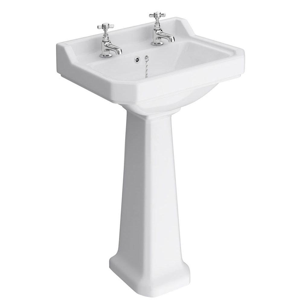 burlington basin 2 tap hole pedestal - Google Search
