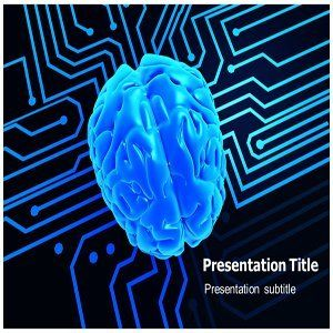 Artificial Brain Powerpoint Ppt Templates  Powerpoint